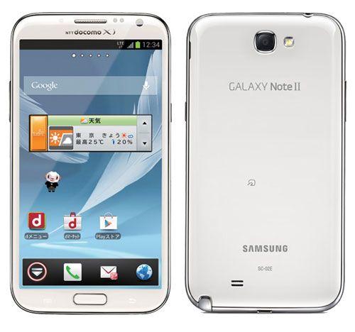 Galaxy Note 2 SC-02E NTT DOCOMO | Techno Stall | Smartphone, Android