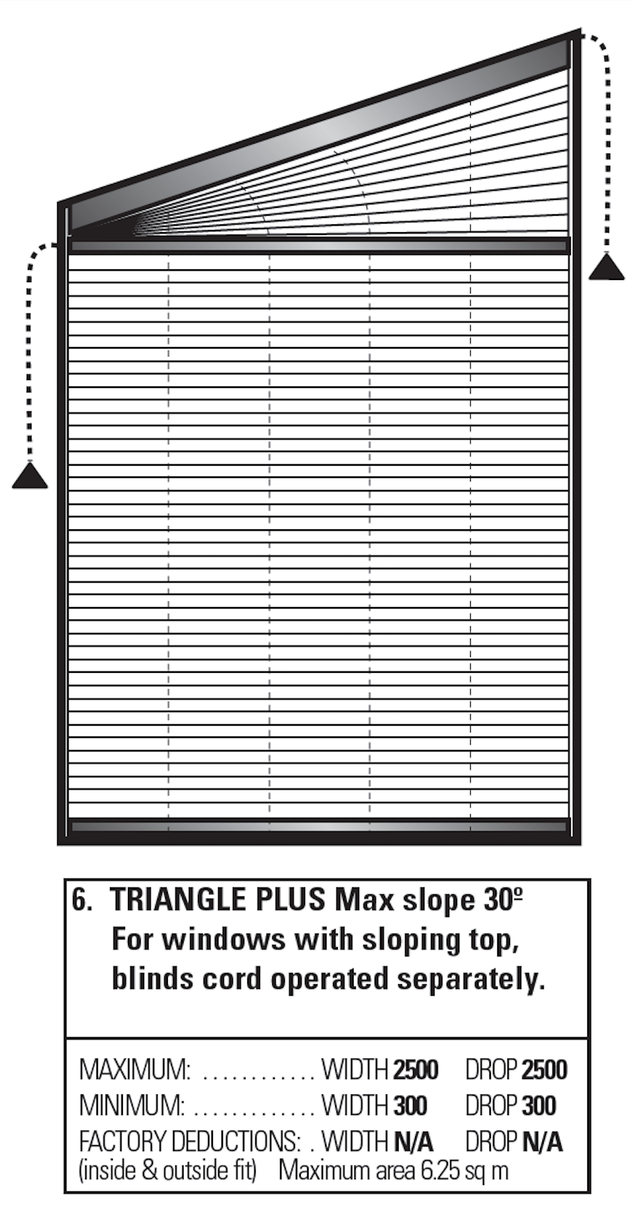 Triangle windows photos supplying wooden window shutters for - Using Pleated Blinds To Cover Odd Shaped Windows See Blindsonline Net Nz For