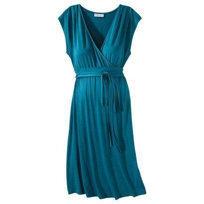 Liz Lange for Target Maternity Dress -- great cut and color!