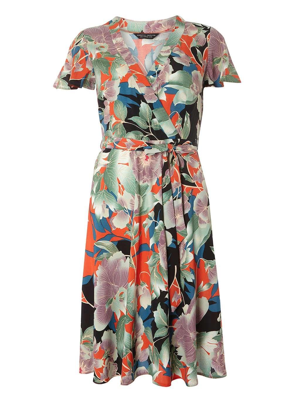b5cf8aab72 Oriental print fit and flare Dress | ruha | Oriental print, Dresses ...