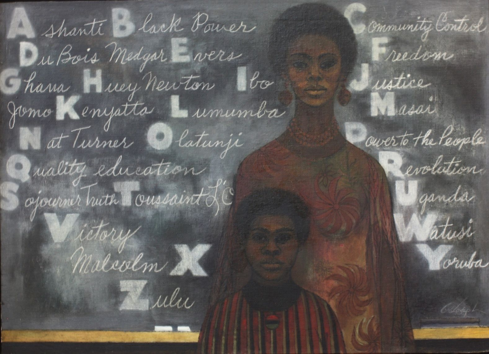 Cliff joseph art in the age black power african