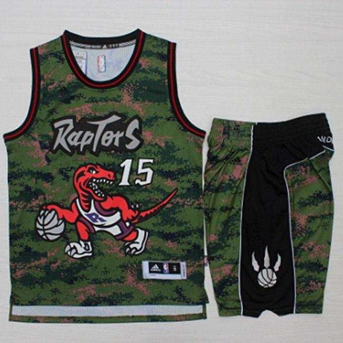 d8828c8147ba ... official store adidas nba toronto raptors camo vince carter 15  basketball short jersey set 99 53eaa