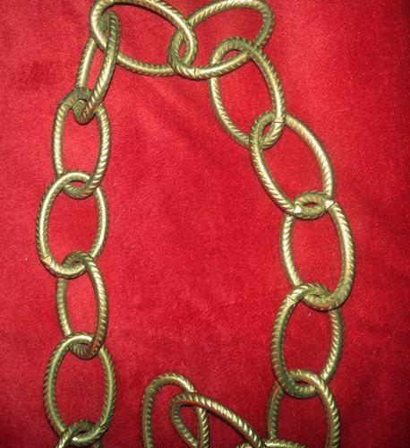 18 VINTAGE CHANDELIER CHAIN Antique Brass by SharonsChandeliers, $18.00 - 18 VINTAGE CHANDELIER CHAIN Antique Brass By SharonsChandeliers