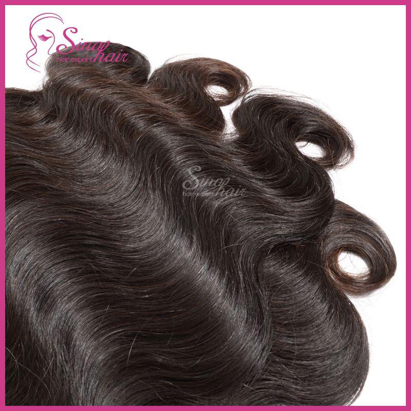 Brazilian Virgin Hair Extension Lace Top Closure With Brazilian Hair