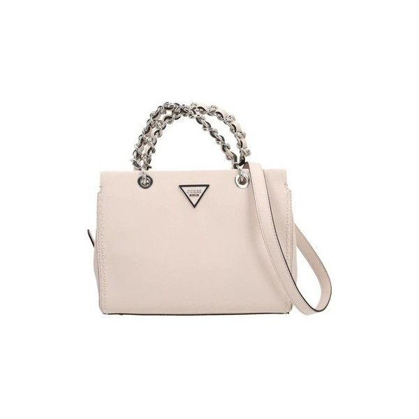 a9752ce37d Guess SAWYER SMALL GIRLFRIEND Handbags (€150) ❤ liked on Polyvore featuring  bags, handbags, pink, pink purse, man bag, pink hand bags, guess handbags  and ...