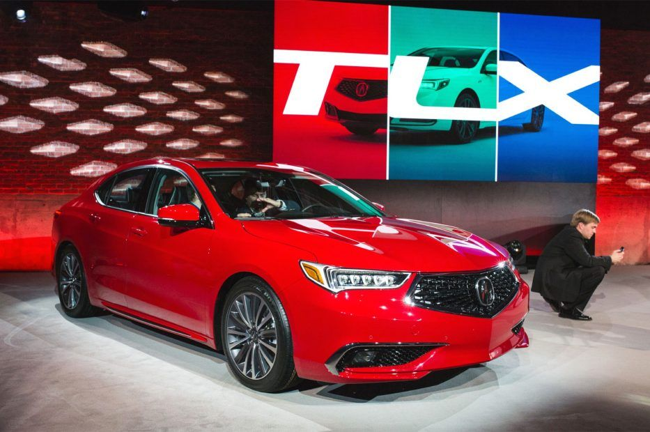 2018 Acura Tlx A Spec Red
