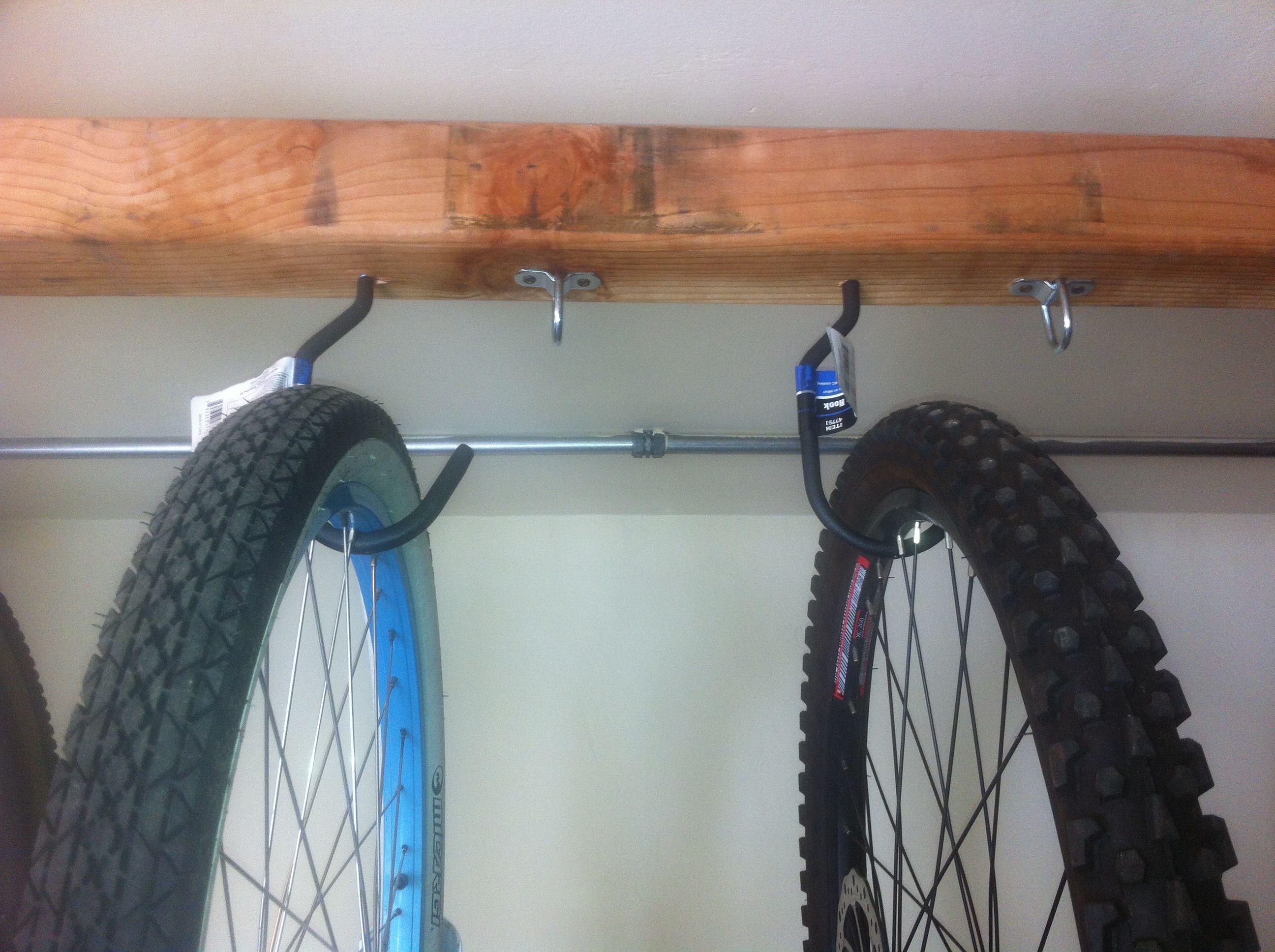 Bike Rack With Cargo D Ring For Bike Locks Bike Rack Bike Bicycle