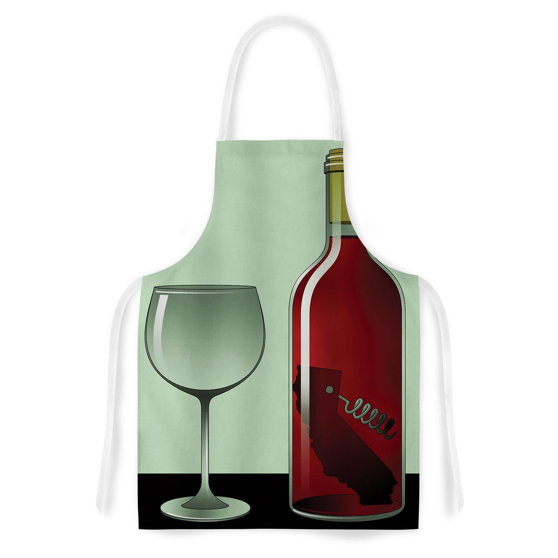 California Wine By Thomas Fuchs Artistic Apron