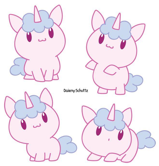 Chibi Unicorn With Images Cute Cartoon Drawings Chibi Unicorn