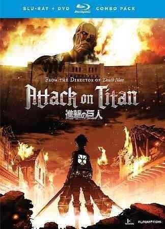 Attack On Titan-part 1 (blu Ray-dvd Combo-standard Edition-4discs) - Trivoshop