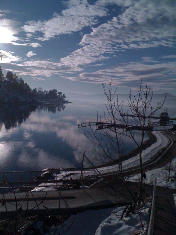 Brønnøya in the winter is also beautiful!