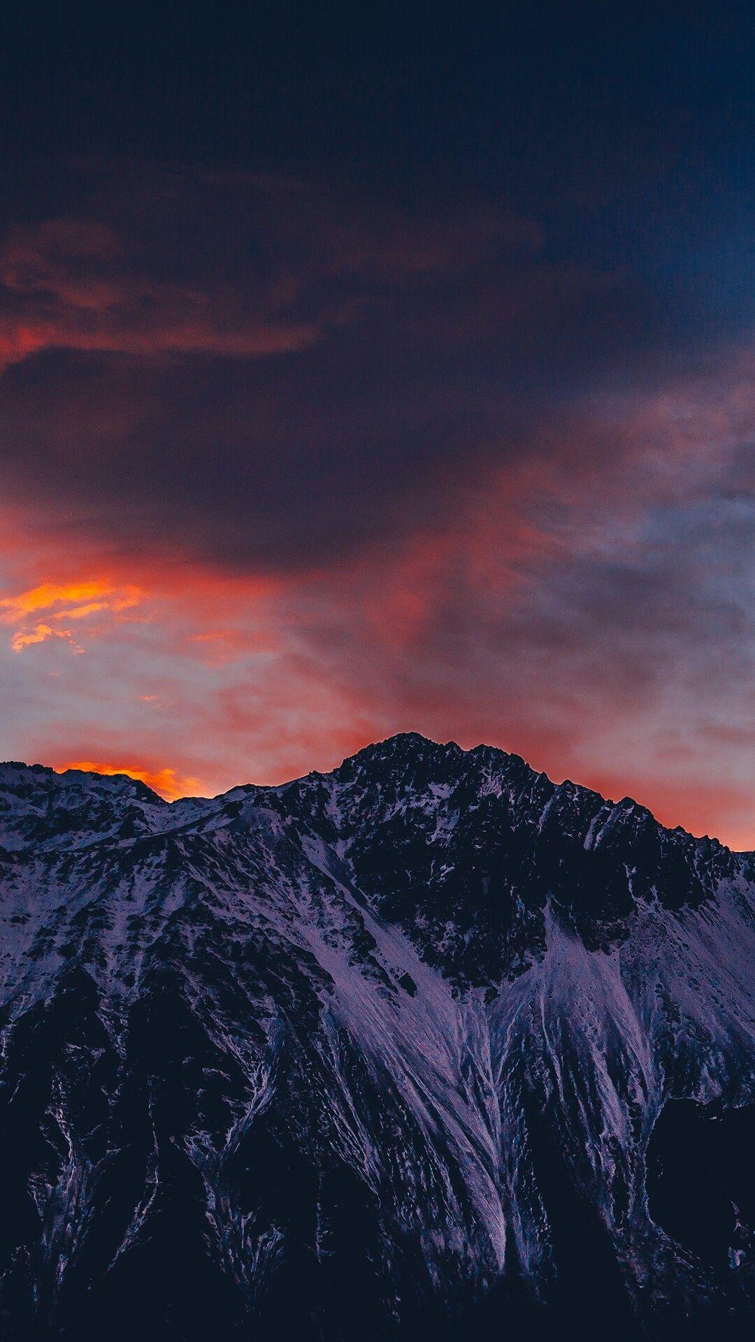 Wallpaper Of Beautiful Sky Snow Mountain Snow Cloud Of Natural
