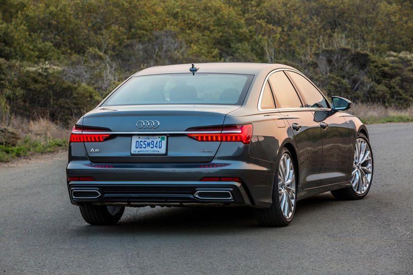 2020 Audi A6 Rear Angle View Photo In 2020 Audi A6 Audi Audi A6 Allroad