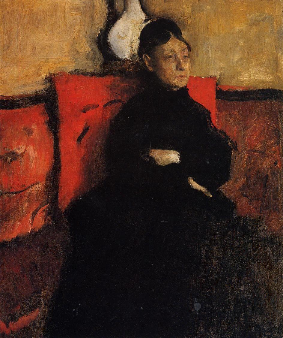 The Athenaeum - Duchesse de Montejasi-Cicerale (Edgar Degas - )