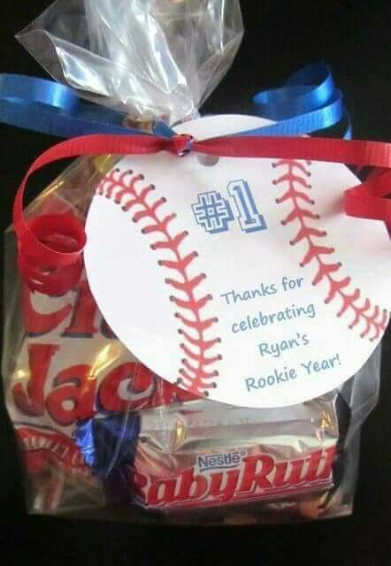 Basrball Trear Bag In 2019 Baseball Birthday Party