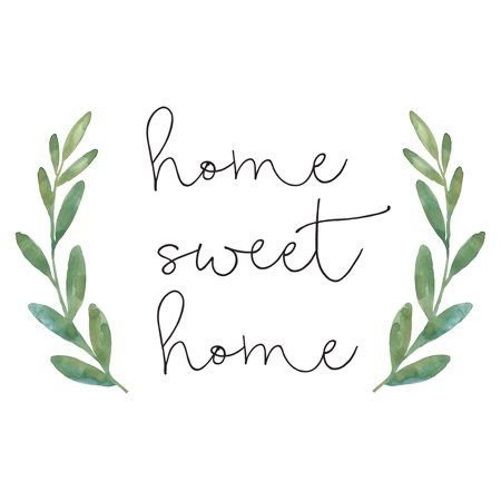 WallPops Home Sweet Home Wall Quote – Walmart.com