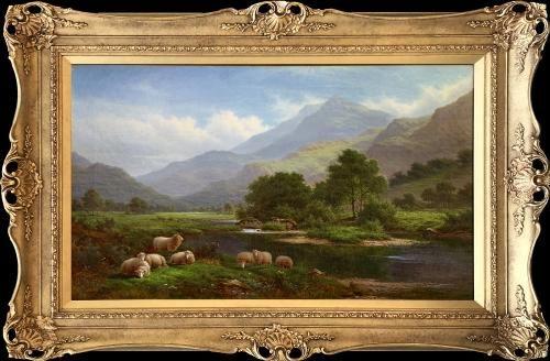 Walter J Watson (British 1879-1979) On the Llugwy, North Wales  Haynes Fine Art