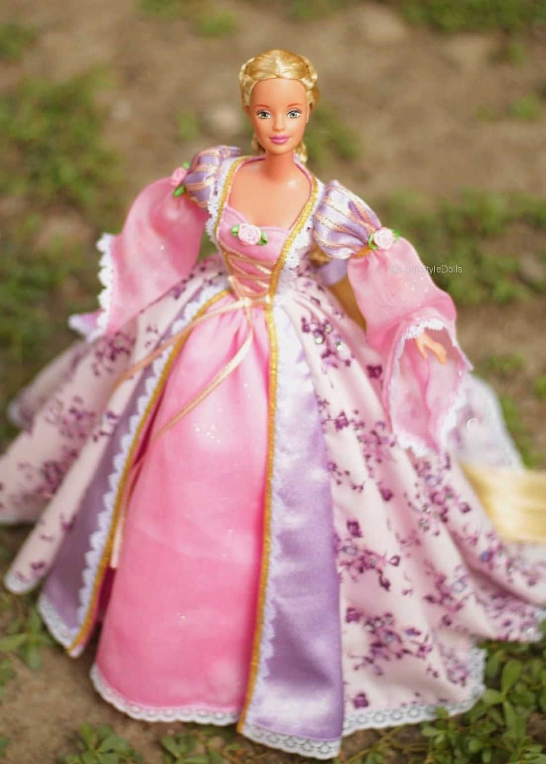 24 Rapunzel Lookstyledolls B Prinzessin Rapunzel Barbie