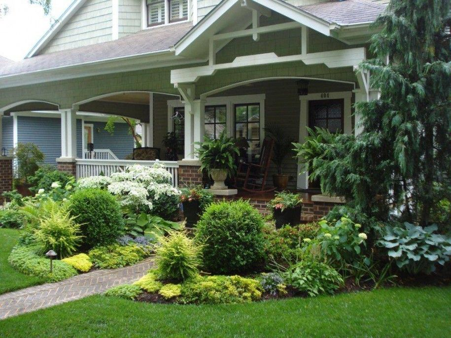 Beautify your home with landscaping ideas for front yard for Front porch landscaping ideas