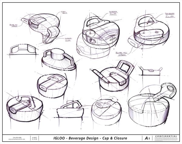 clean sketches13836_-IGLOO_Beverage-Design_Cap-and-Closure_A1 ...