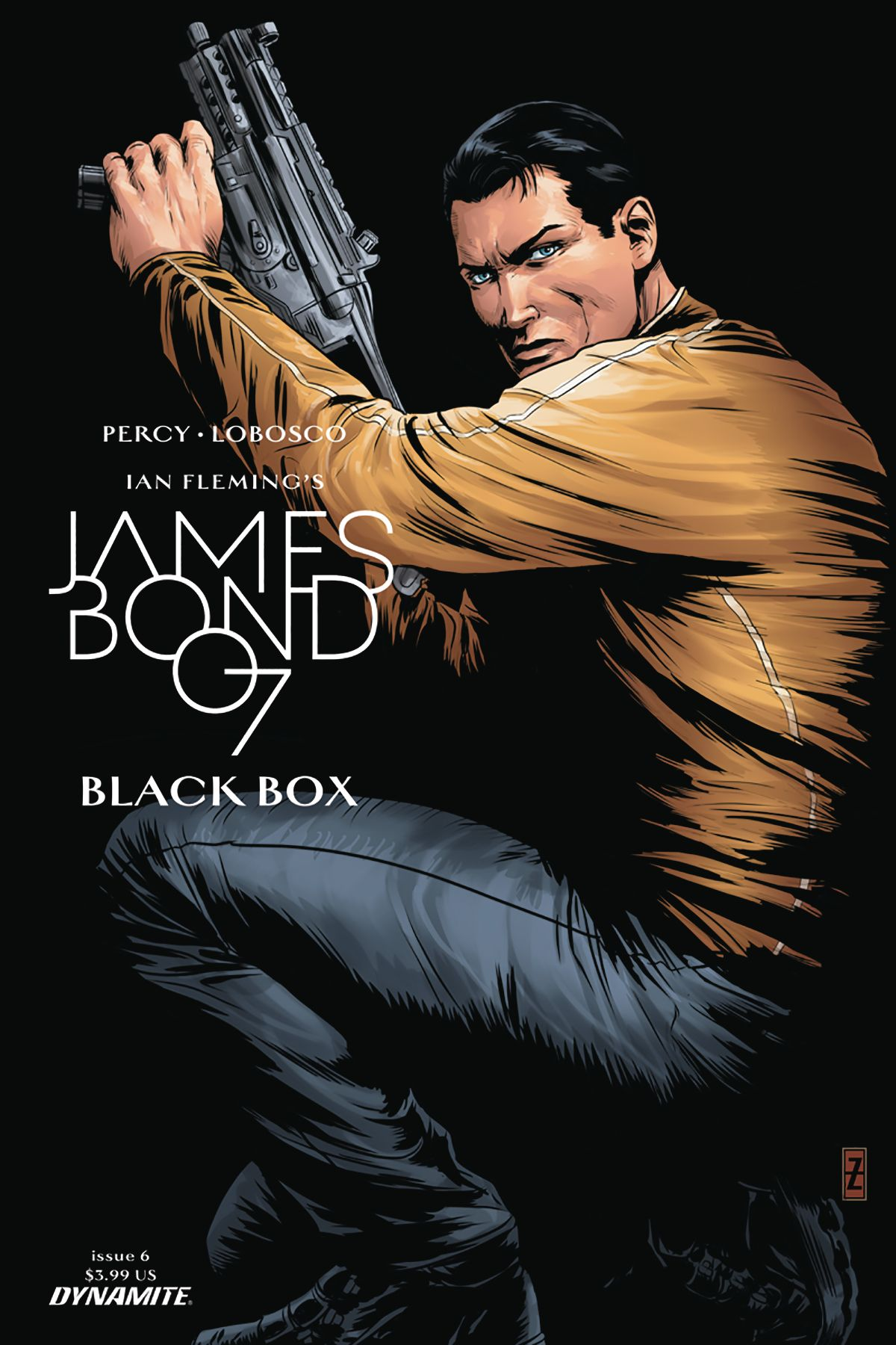 James Bond 6 Cvr C Zircher