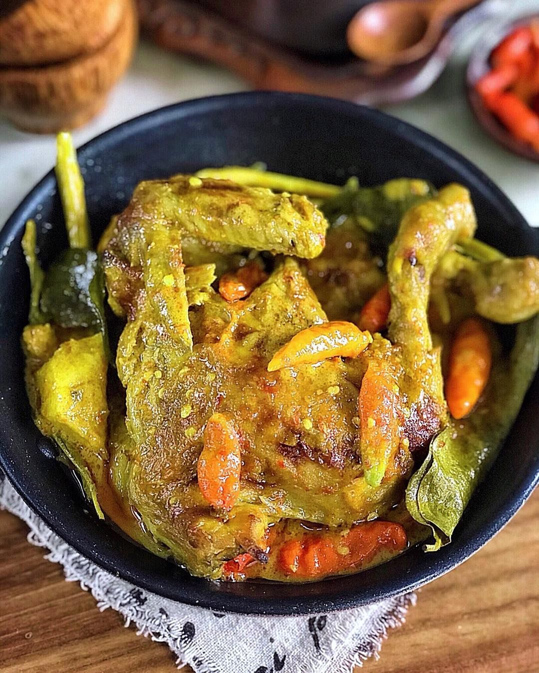 Resep Ayam Lodho Pedas Yang Maknyus Asli Trenggalek Jawa Timur Resep Ayam Resep Masakan Masakan
