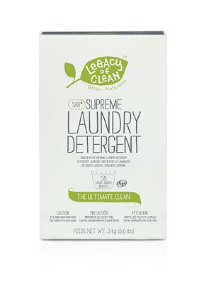 109851 Legacy Of Clean Sa8 Supreme Laundry Detergent Powder