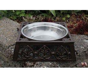 Vand/Madskål til hunde i støbejern