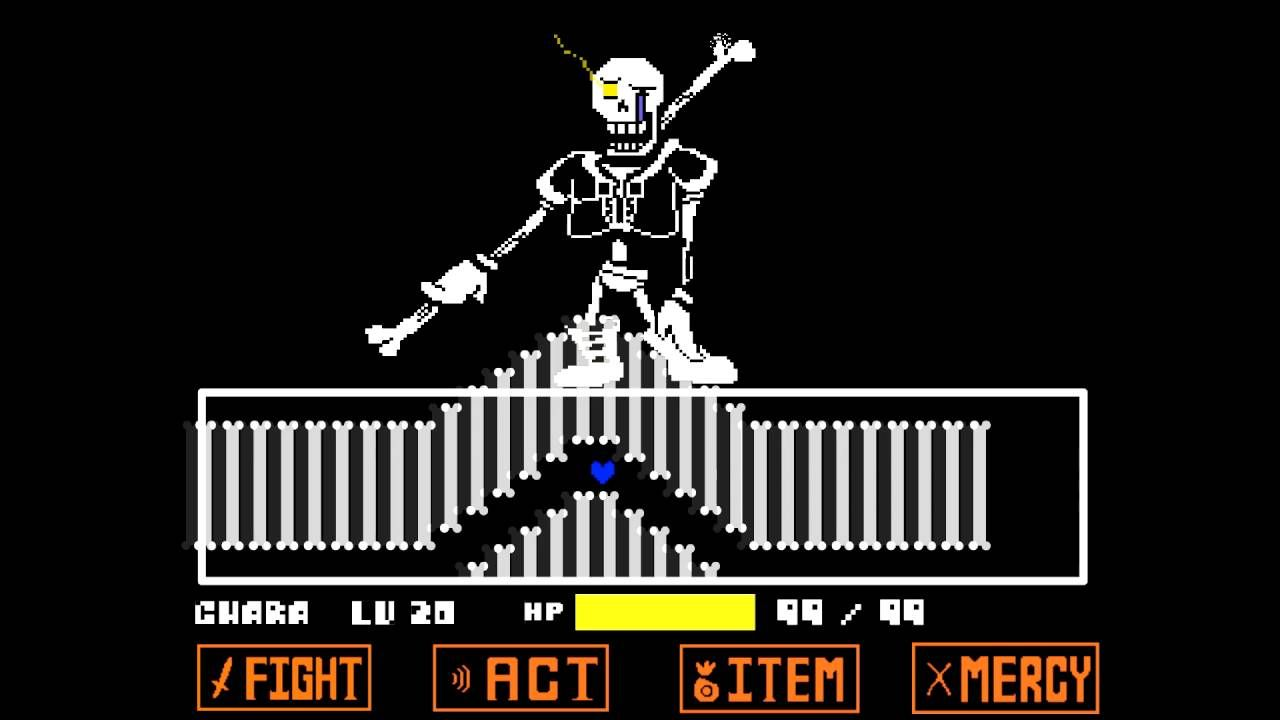 Read Description Disbelief Papyrus Fanmade Undertale Fight