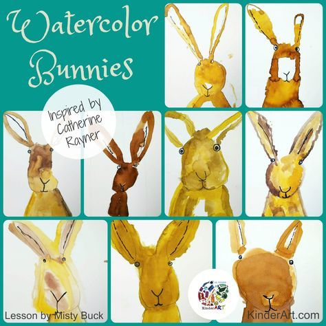 Children will learn about illustrator Catherine Rayner as they create value stud…