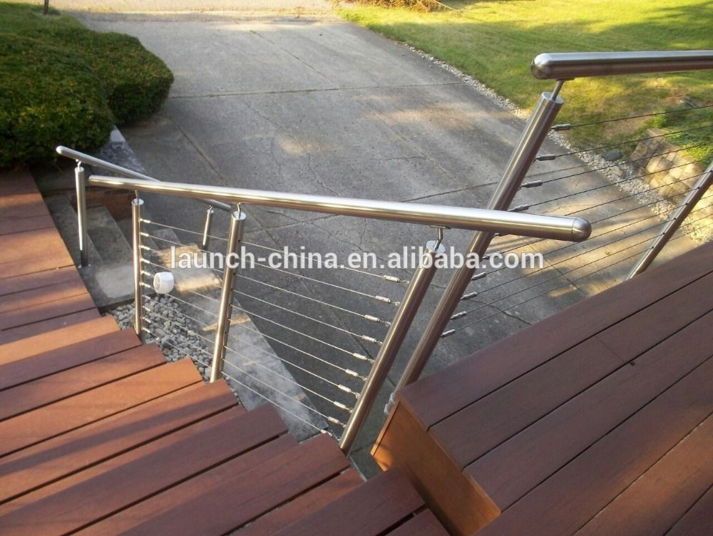 Handrails For Outdoor Steps Stainless Steel Railings Luxury Stair ...