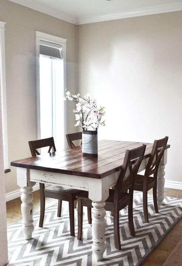 6 diy dining tables you can make on a budget furniture pinterest rh pinterest ca