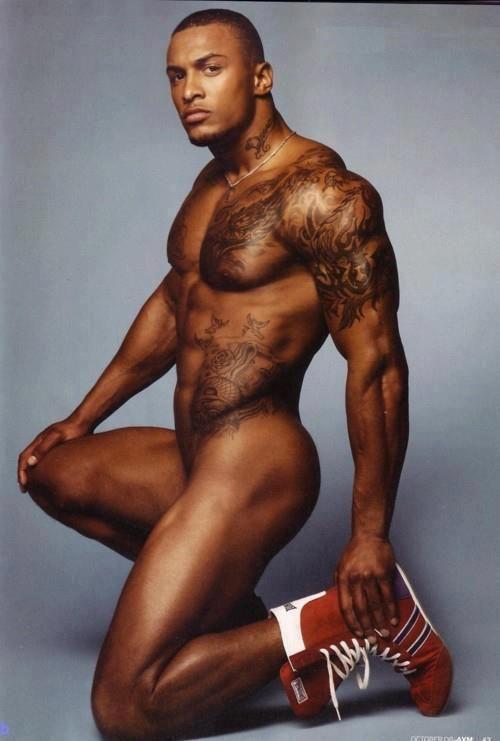 Handsome black gay
