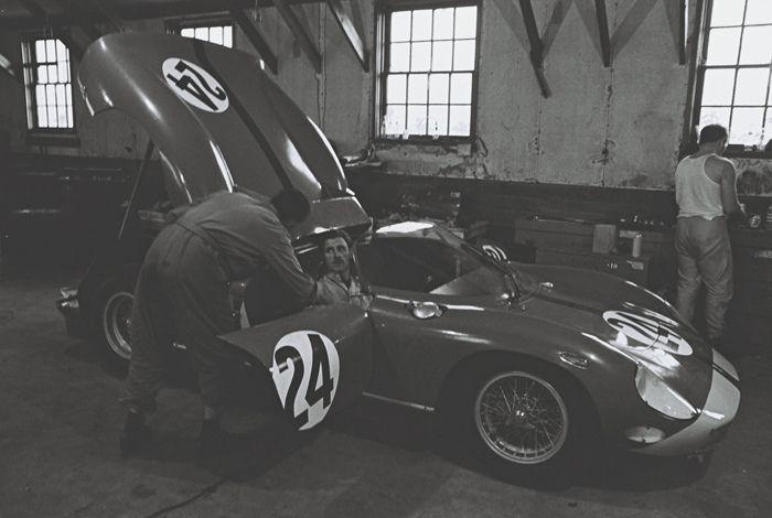 Team Ferrari à Daytona.