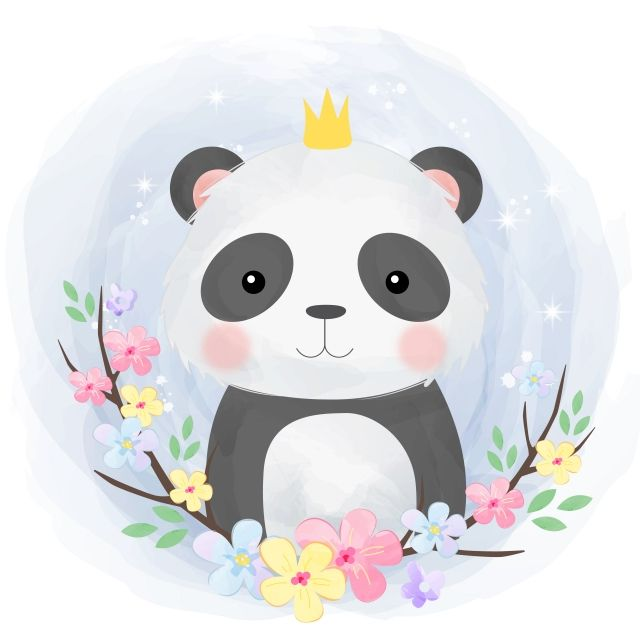 Cute Baby Panda Illustration Adorable Animal Baby Png And Vector With Transparent Background For Free Download In 2020 Panda Illustration Cute Animal Illustration Animal Illustration Kids