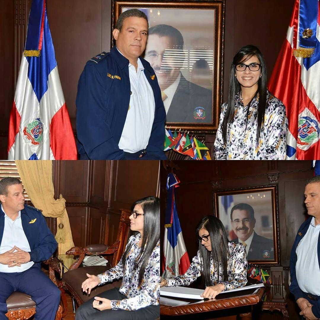 La Comandancia General De La Fuerza Aérea De República Dominicana Fue Distinguida Con La Visita De La Honorable Magistrada Procuradora Fiscal D Scenes Talk Show