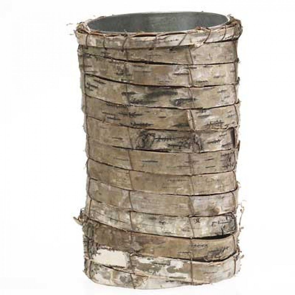 Natural Birch Bark Vases (2 sizes) [Buy Birch Bark Vase w/ Sleeve] : Wholesale Wedding Supplies, Discount Wedding Favors, Party Favors, and Bulk Event Supplies