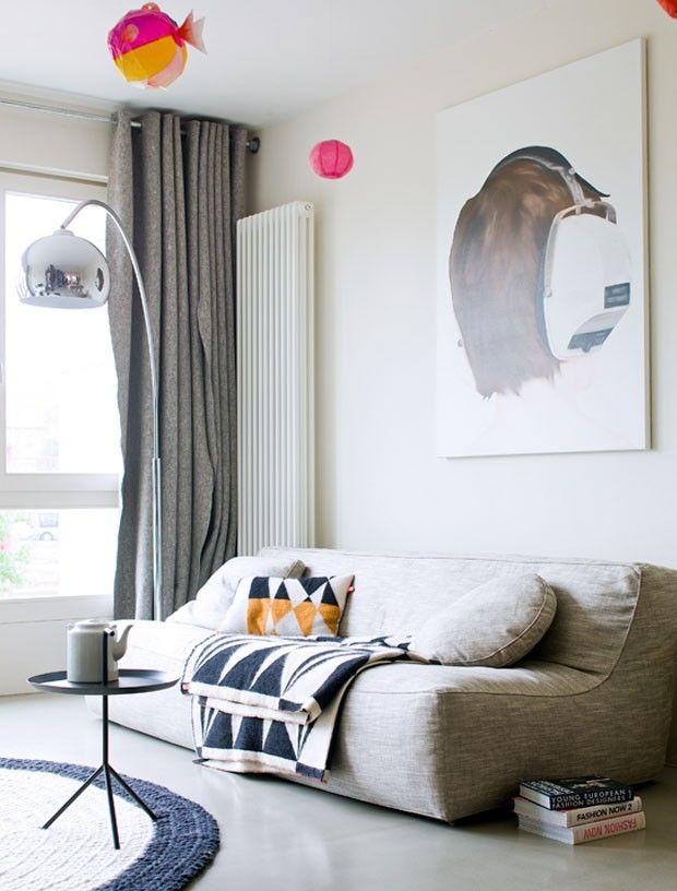 gordijnen vilt nu te bestellen per meter bij einrichtung pinterest. Black Bedroom Furniture Sets. Home Design Ideas
