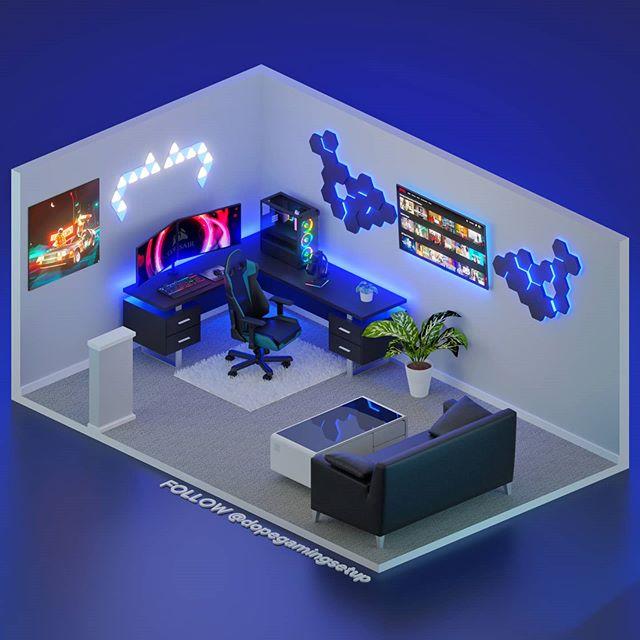 """140 ϼ""""d Ͻ‡ï½ï½ï½‰ï½Žï½‡ Ͻ'oom Ͻ""""esign Ͻ""""tudio Ideas Gaming Room Setup Gamer Room Room Setup I'm looking to jazz up my apartment a bit. 140 3d gaming room design studio"""