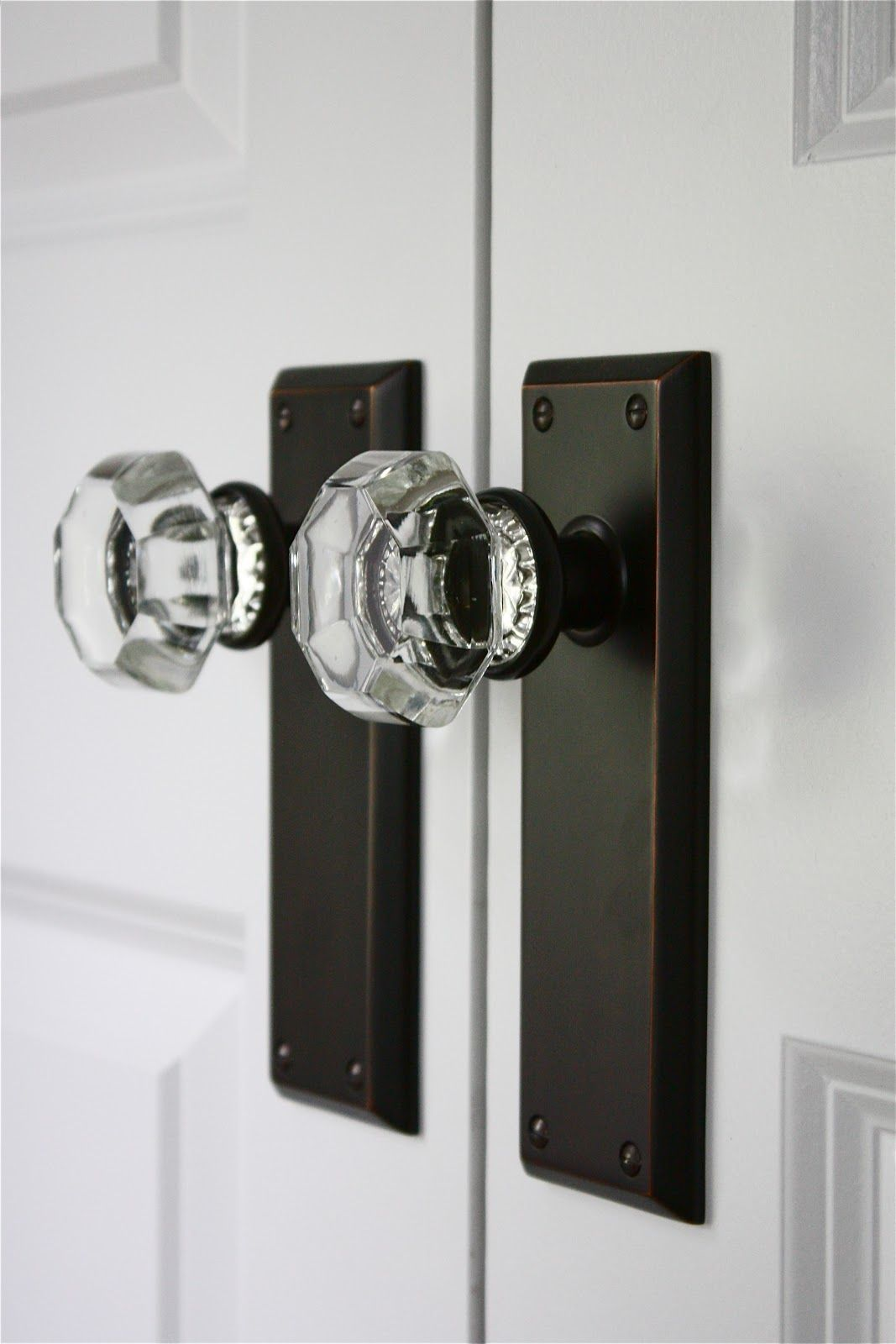 Crystal Door knobs / Home Details. Add an elegant touch to the home ...