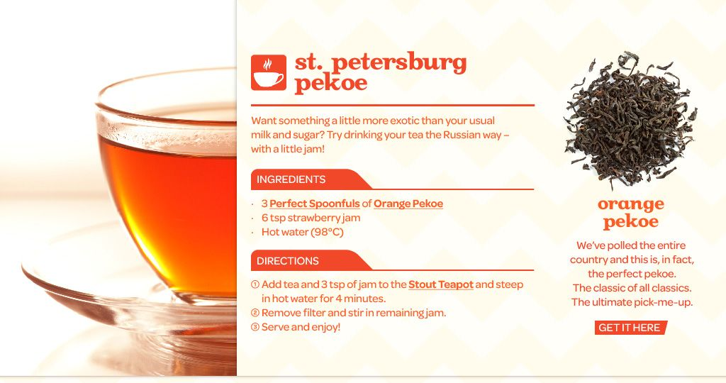 Davidstea Tea Recipes Tea Recipes Orange Pekoe Tea Recipes