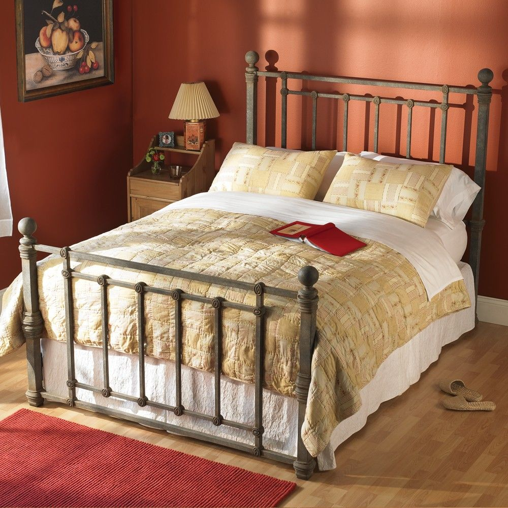 copperchrome headboard chrome argyle iron copper abode in bed fashionbedgroup humble