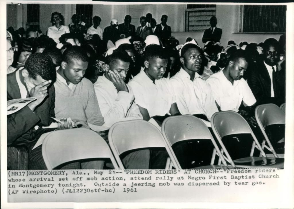Freedom Riders Civil Rights Rally In Montgomery Al 1961 These Americans An American Archive Freedom Riders Civil Rights Freedom Rides