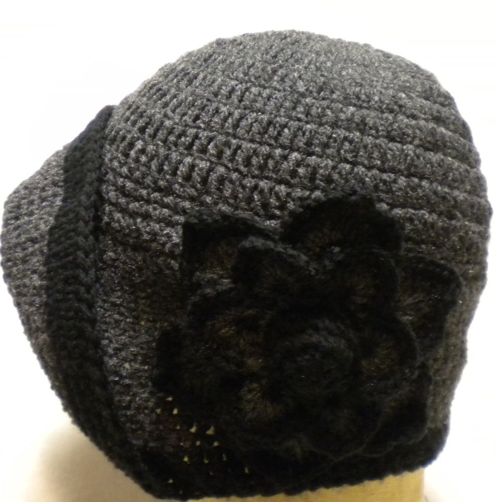 Cloche 1920s vintage style ladies flapper crochet hat handcrafted ...