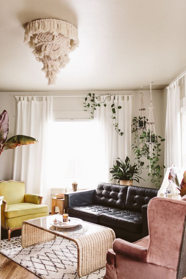 Boho Eclectic Living Room (Blog  The Brave Life) is part of Eclectic Cottage Living Room - Guys  First thing HOLY COW as of today I've been blogging for TEN YEARS  Ten  A damn decade  What  I haven't done anything for a decade straight  If you want to go back to the early days and ha