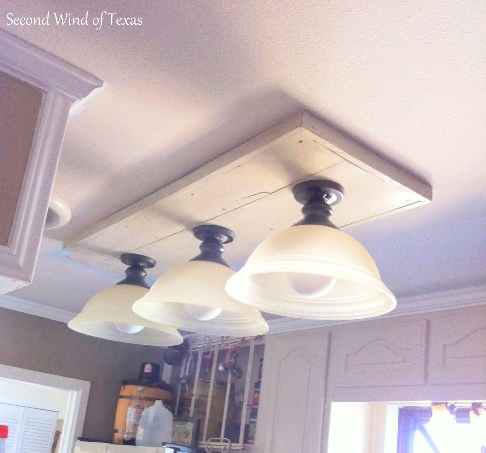 Replacing installing fluorescent light fixture ideas kitchen redo replacing installing fluorescent light fixture ideas arubaitofo Image collections