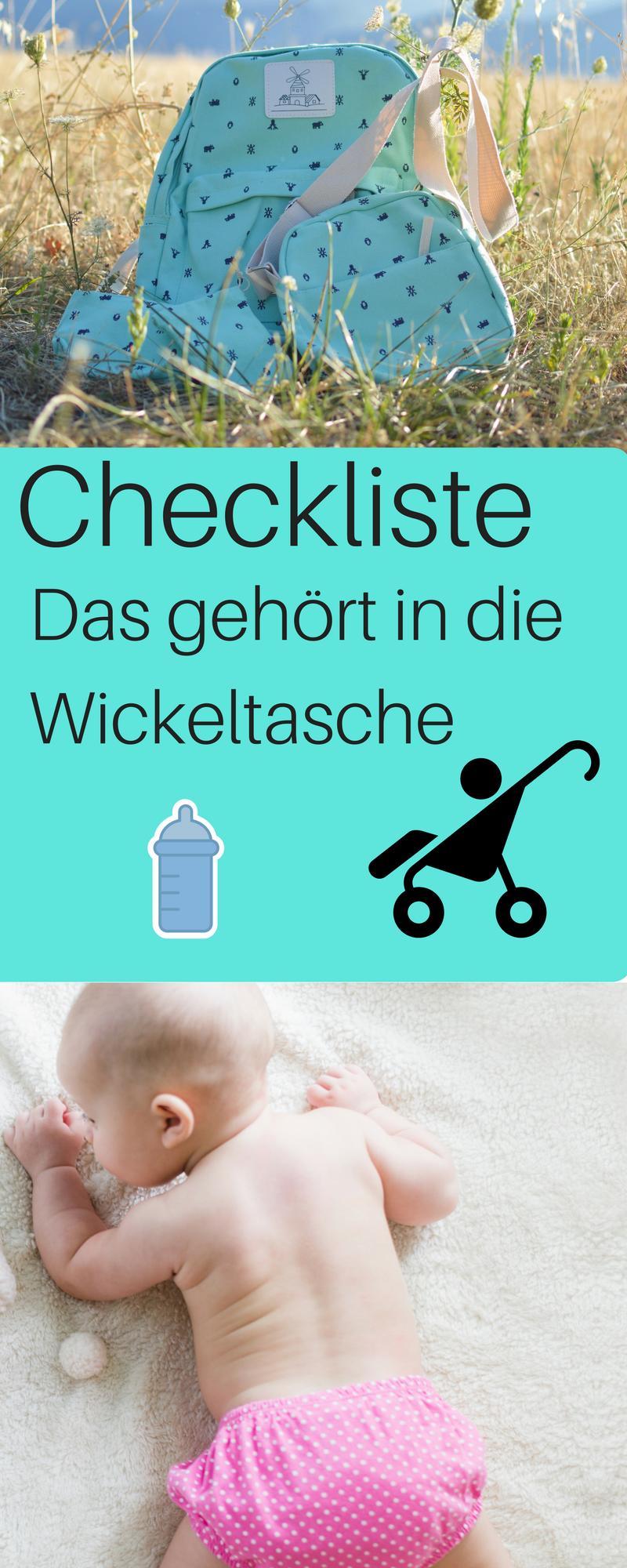 checkliste wickeltasche was geh rt in die wickeltasche baby und kleinkind allgemein. Black Bedroom Furniture Sets. Home Design Ideas