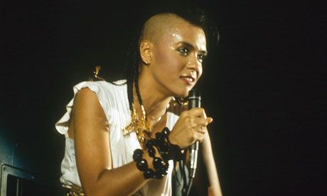 """Bow Wow Wow factor ... Annabella Lwin on stage in 1982.   """"Bow Wow Wow factor ... Annabella Lwin on stage in 1982. P"""""""