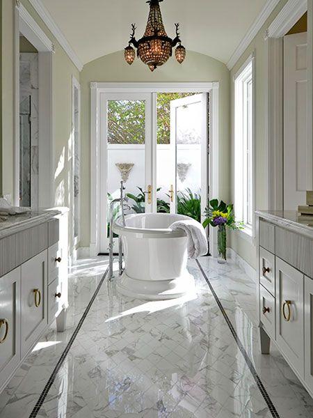 6 Design Ideas for Tile Rugs | Calacatta gold, Calacatta and Bath on