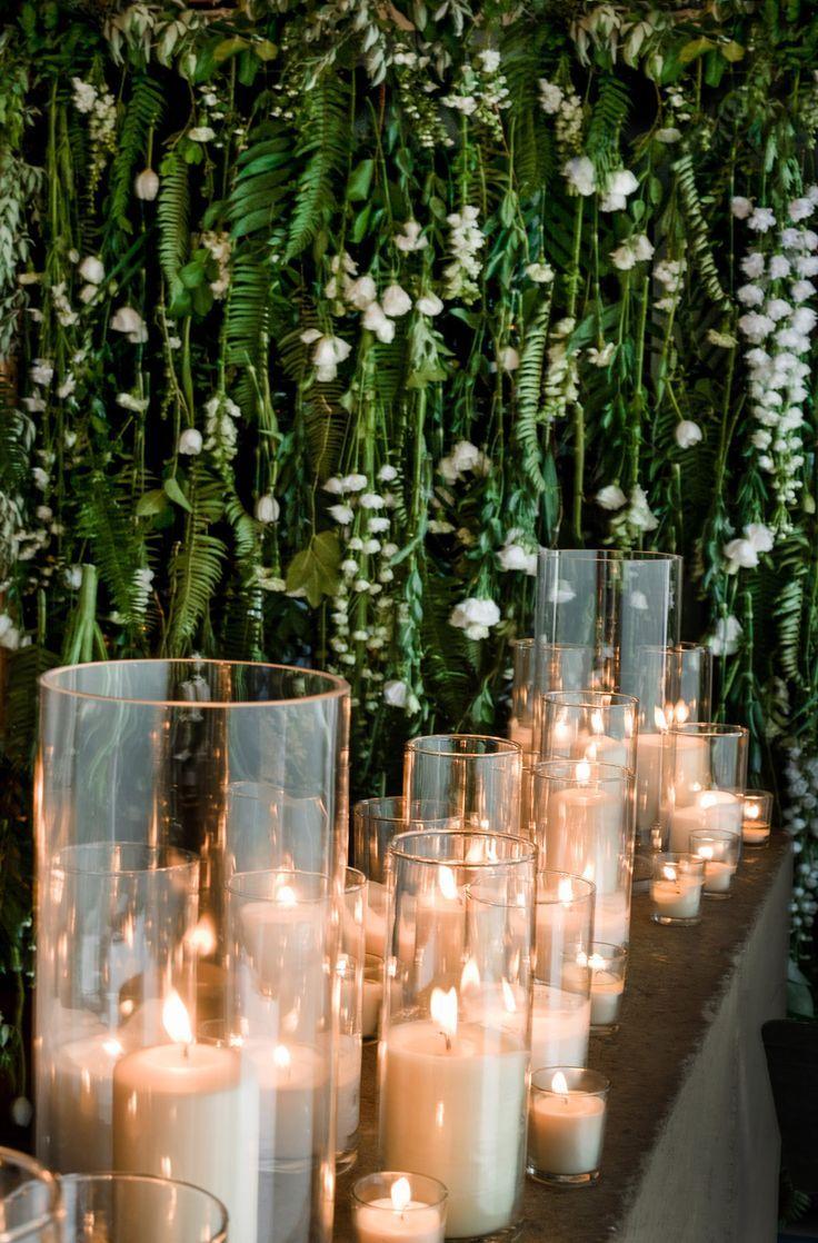 Modern Cacti Wedding In Santa Fe #candles